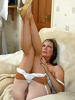 sheer stockings and panties milf