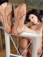 Seamed Stockings Fetish